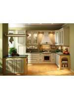 Комфорт и простота дизайна кухни в стиле прованс