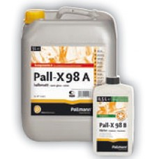 Лак двухкомпонентный Pallmann/Uzin Pall-X 98 полумат
