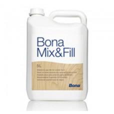 Шпаклевка для дерева под воднодисперсионные лаки Bona MIX FILL (Бона Микс Филл) 1.0 л.