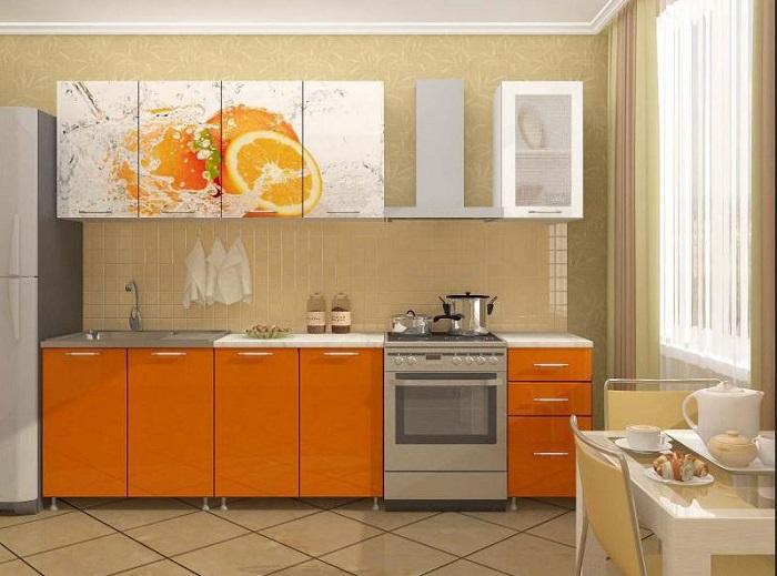 Интерьер кухни: удачный пример удобства и стиля. Фото